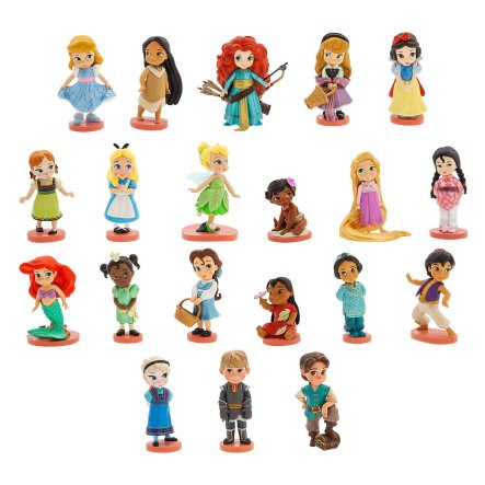 Gift Ideas for 6 Year Old Girls - Disney's Animators' Collection Mega Figure Set