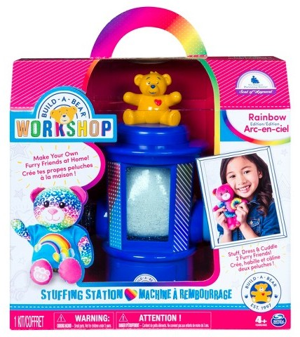 Gift Ideas for 6 Year Old Girls – Build-A-Bear Workshop Stuffing Station