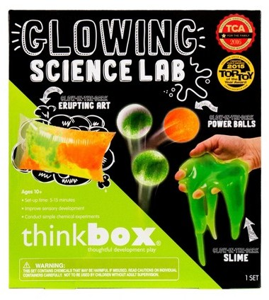 Gift Ideas for 6 Year Old Girls – Think Box Glowing Science Lab